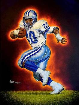 Barry Sanders by Mark Turnes