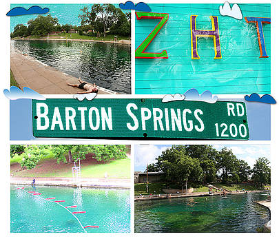 Barton Springs by Andrew Nourse