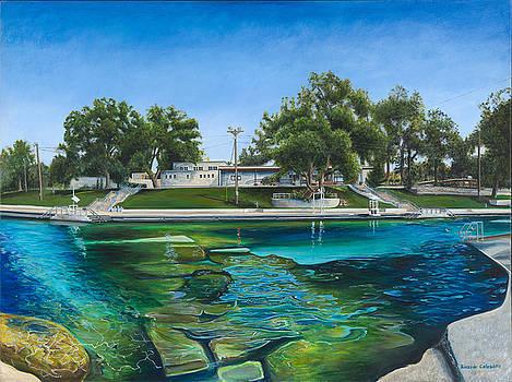 Barton Springs Pool by Ricardo Calzadilla