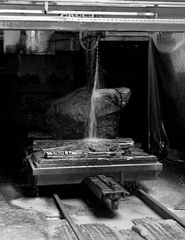 Basalt saw nr.1 by Kenneth-Edward Swinscoe