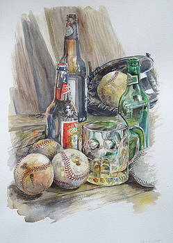 Baseball and Beer by Karen Boudreaux