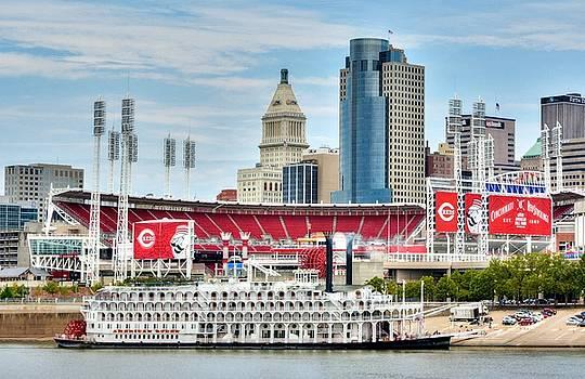 Mel Steinhauer - Baseball And Boats In Cincinnati