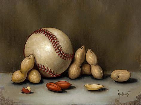 Baseball And Penuts by Clinton Hobart