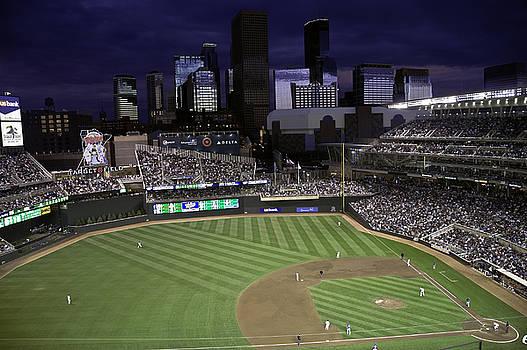 Baseball Target Field  by Paul Plaine