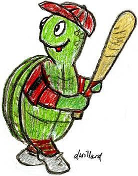 Baseball Turtle by Deborah Willard