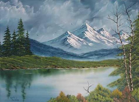 Basic landscape painting by Barbara Furlong