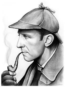Peter Cushing by Greg Joens
