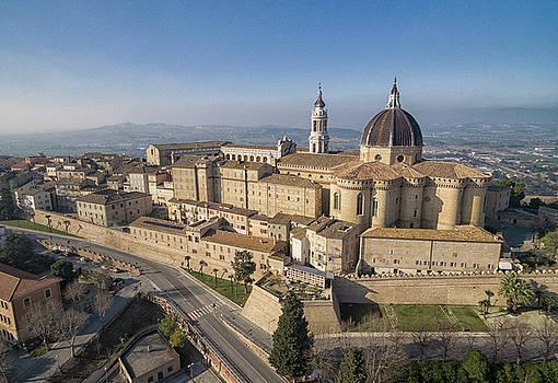 Basilica de Santa Casa in Loreto, Italy by David Daniel