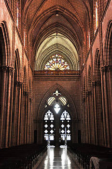 Basilica del Voto Nacional by Kathy Schumann