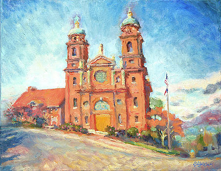 Basilica of St. Lawrence on a Sunny Day by Lisa Blackshear
