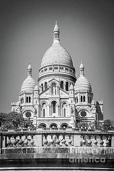 Basilica of the Sacred Heart in Montmartre by Delphimages Photo Creations