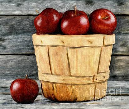 Basket Of Apples by Tara Richardson