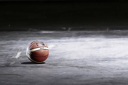 Basketball Ball by D Plinth