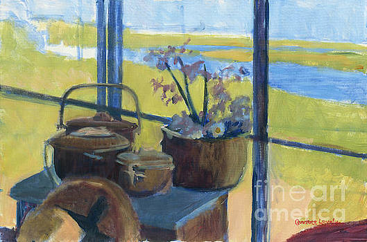 Baskets in the Window by Candace Lovely