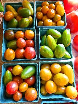 Dee Flouton - Baskets of Baby Tomatoes