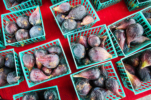 Baskets Of Ripe Figs by Dina Calvarese