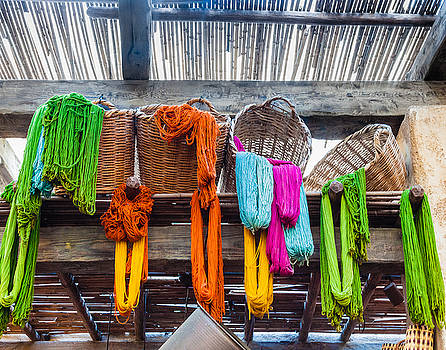Baskets of Wool by Prashant Thumma
