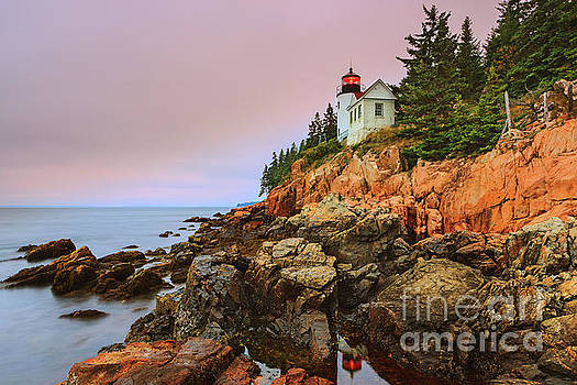 Bass Harbor Head Light - Maine by Henk Meijer Photography