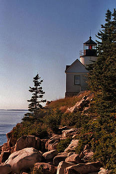 Sandra Huston - Bass Harbor Head Light
