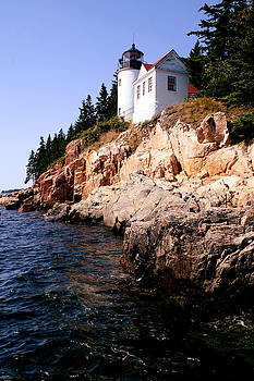 Bass Harbor Head Lighthouse by Charles Shedd