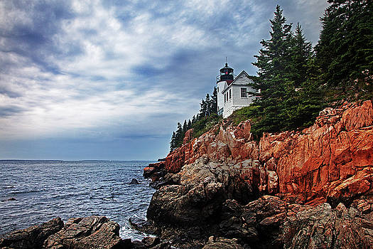 Bass Harbor Head Lighthouse by George Gilchrist