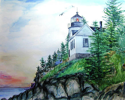 Bass Harbor Light by Ron Stephens