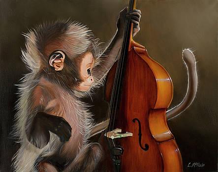 Bass Monkey by Loretta McNair