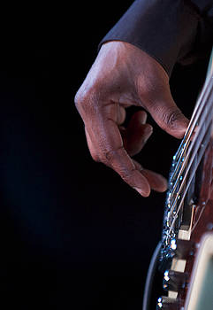 Bass Player by Al Junco