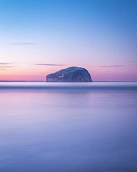 Bass Rock Sunset by Scott Masterton