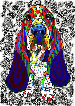Basset Hound by ZileArt
