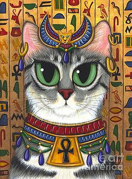 Bast Goddess - Egyptian Bastet by Carrie Hawks