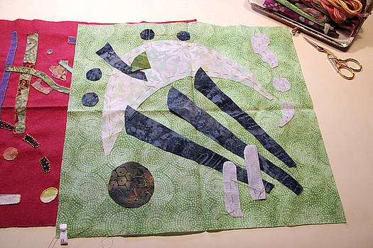Basted Applique 13 by Eileen Hale