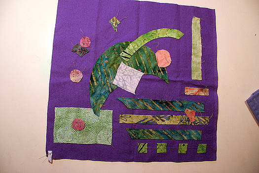 Basted Applique 16 by Eileen Hale