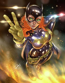 Batgirl by Pete Tapang
