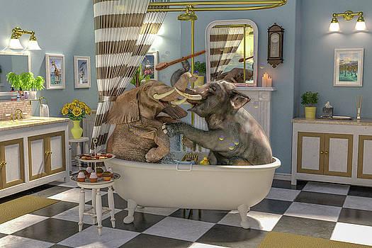 Bath Time by Betsy Knapp
