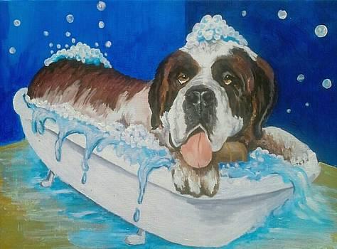 bath time Shnorbitz by Alan Kennedy