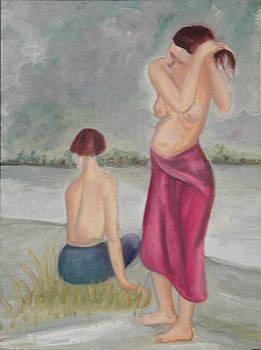Bathers by Miriam Besa