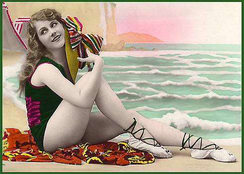 Denise Beverly - Bathing Beauty on the shore Bathing Suit