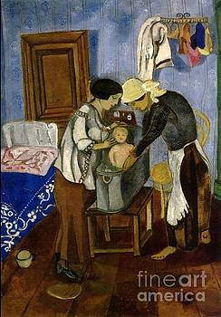 Marc Chagall - Bathing Of A Baby