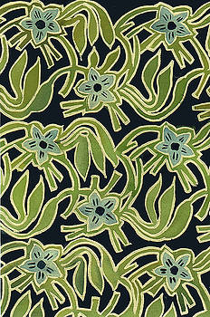 Batik Flower by Leslie Marcus