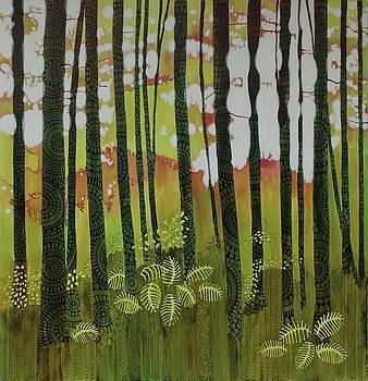 Batik forest by Sandrine Pelissier