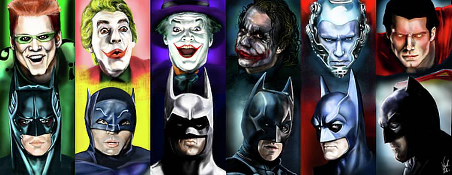 Batman 1966 - 2016 by Vinny John Usuriello