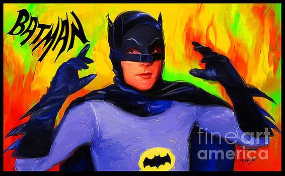 Batman, Adam West by Dori Hartley