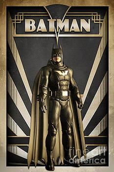 Batman Art Deco by Luca Oleastri