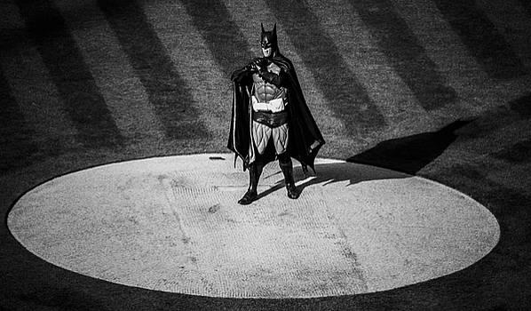Batman Baseball by Brandon McClintock