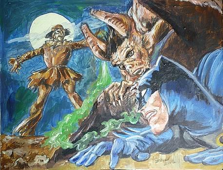 Bryan Bustard - Batman V Scarecrow