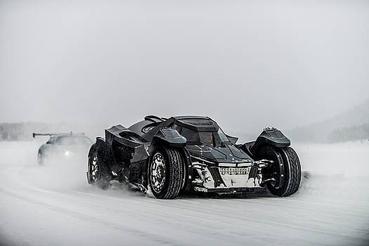 Batmobile Snowtour by George Williams