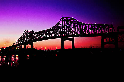 Baton Rouge at Dusk by Sarah Stollberg