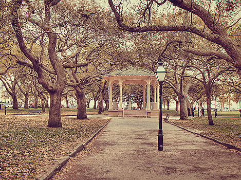 Battery Park in Spring by Emily Kay
