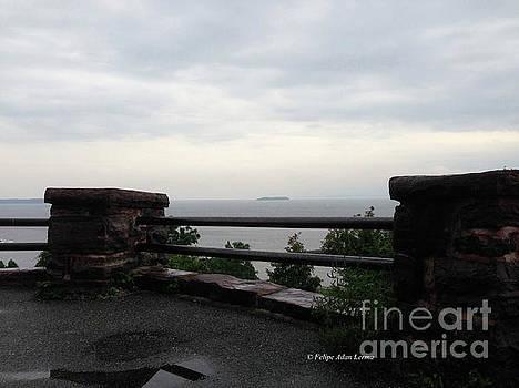 Felipe Adan Lerma - Battery Park Wall Untouched